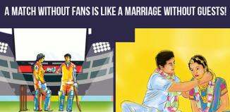 Bharatmatrimony IPL contextual campaign