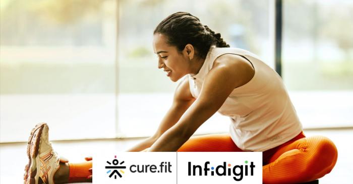 Infidigit SEO mandate of cure.fit