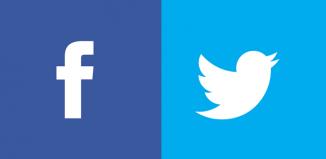 Facebook Twitter Trump