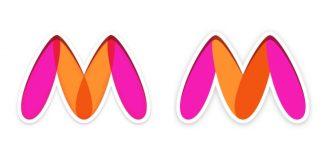 Myntra tweaks logo