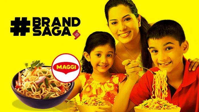 Maggi advertising journey