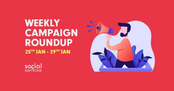 Social media campaigns January week 5