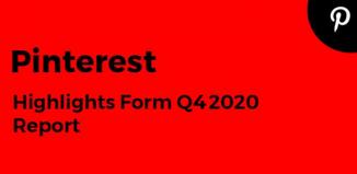 Pinterest Q4 2020
