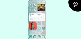 Pinterest iOS widget