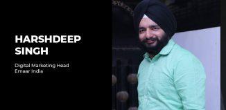 Harshdeep Singh Digital Marketing Head Emaar India