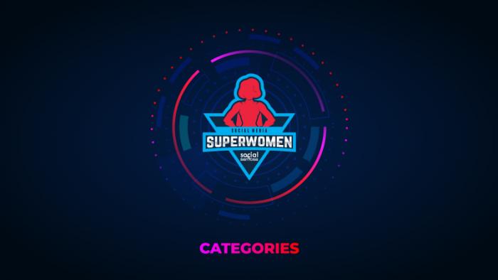 #Superwomen2021 categories