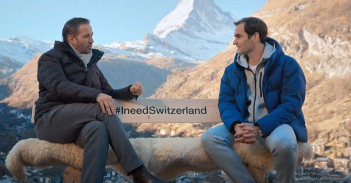 Roger Federer Switzerland Tourism