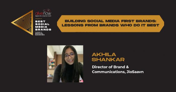 social media first brands