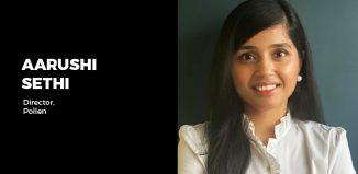 Aarushi Sethi Influencer amrketing