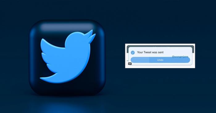 Twitter is testing an 'undo send' option.
