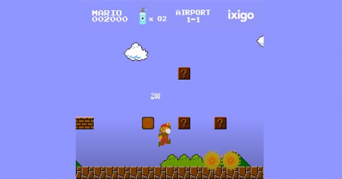 Mario advertising