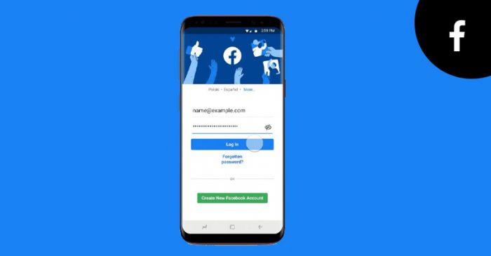 Facebook log in security