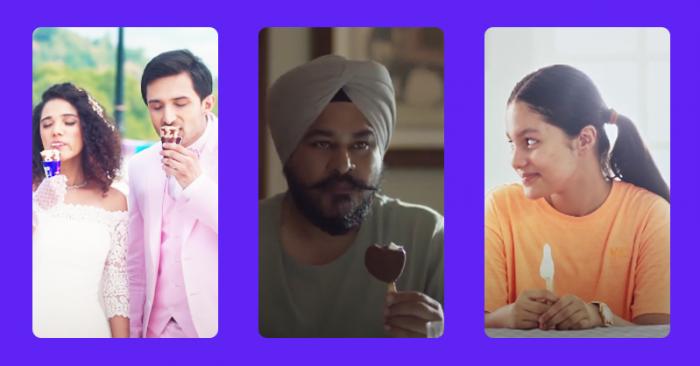 Amul Ice cream ads