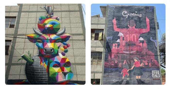 Budweiser Messi Murals campaign