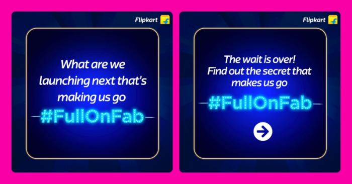 Flipkart #FullOnFab campaign