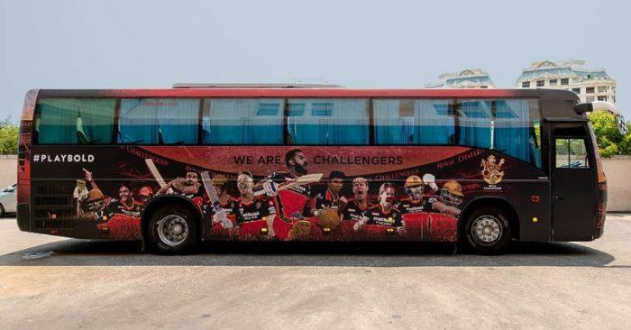 IPL Team Buses