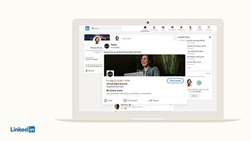 LinkedIn marketing features
