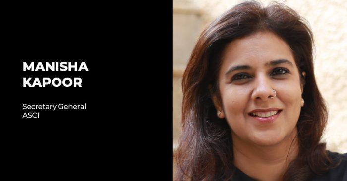 Manisha Kapoor ASCI guidelines