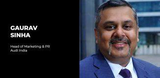 Gaurav Sinha Audi India Marketing