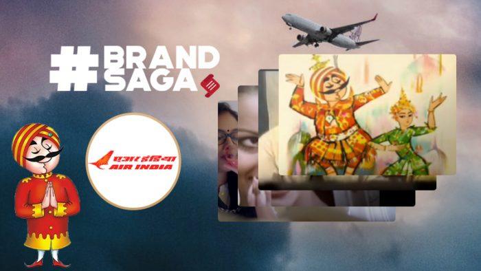 Air India advertising journey
