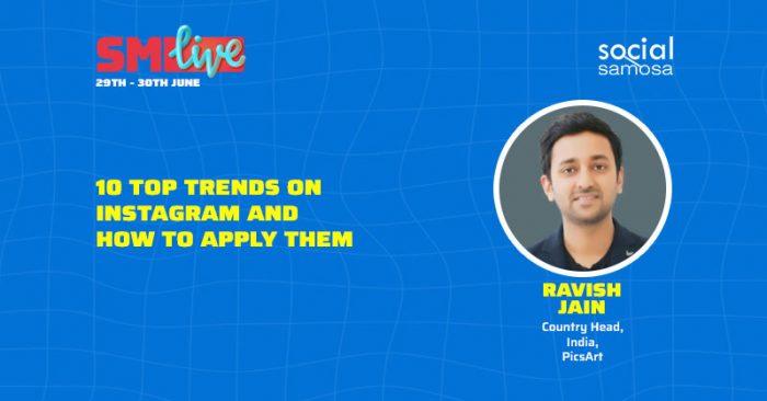 Ravish Jain on Instagram trends use