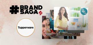 Tupperware India advertising journey