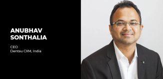 Anubhav Sonthalia Dentsu CXM