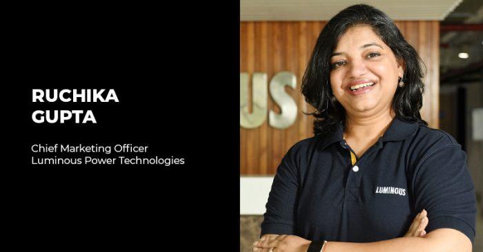 Ruchika Gupta Luminous