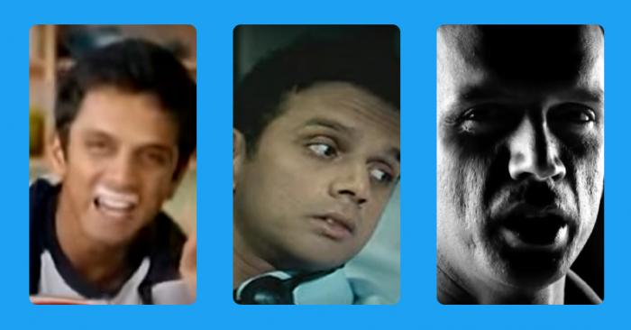 Rahul Dravid ads