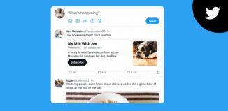 Twitter newsletters