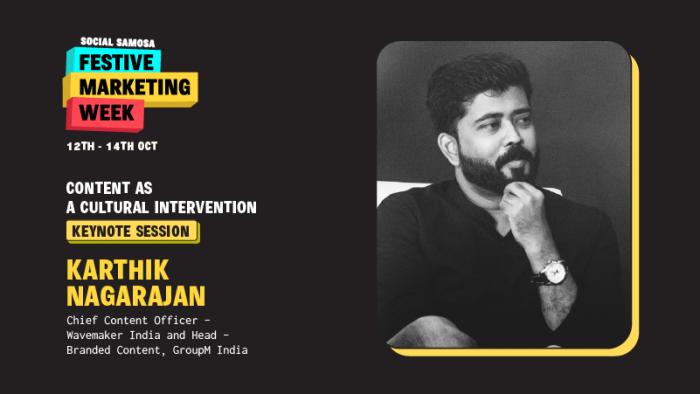 Karthik Nagarajan festive marketing week