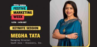 Megha Tata at Festive marketing week